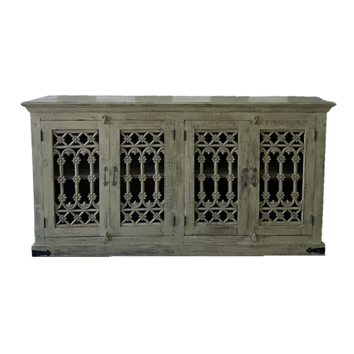 SIDEBOARD METAL GRILL DOORS