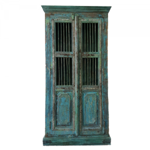 INDIAN ARMOIRE METAL BARS