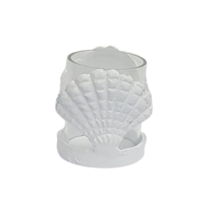 TEALIGHT SHELLS CONCH