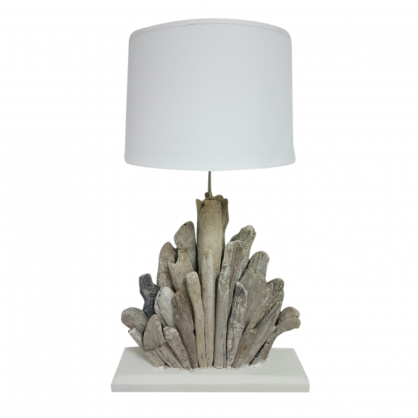 LAMP DRIFTWOOD TAPERED