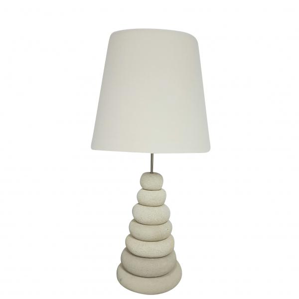 LAMP PEBBLE PYRAMID