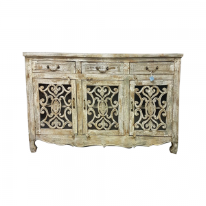 SIDEBOARD CARVED OUT DOORS