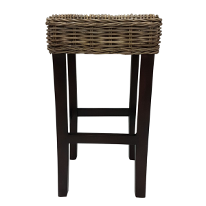 BAR STOOL KUBU GREY