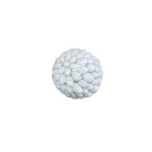 BALL SHELL SMALL WHITE