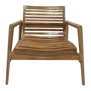 SCANDI CHAIR SLATTED