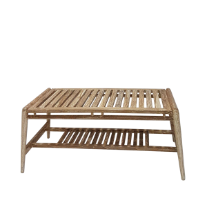 SCANDI TABLE COFFEE SLATTED