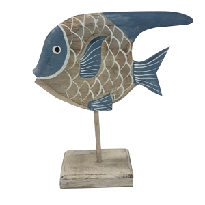 FISH BLUE ON STAND