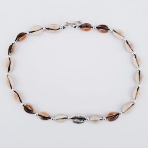 NECKLACE SILVER COWRIE