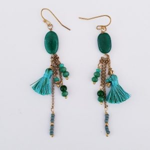 EARRINGS TASSLE