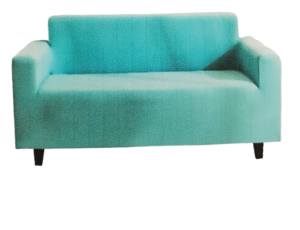 SOFA SLIPCOVER 3 SEATER AQUA