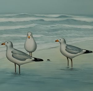 CANVAS SEAGULLS