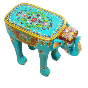 FOOT STOOL ELEPHANT